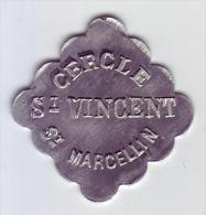 Monnaie De Nécessité - LOIRE 42 - St Marcellin. Cercle St Vincent - - Monetari / Di Necessità