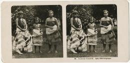 Stereo 48 Samoa Inseln Apia Madchengruppe Femmes Nues - Samoa