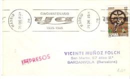 MAT.RODILLO .1985 PRENSA DIARIO YA - 1981-90 Lettres