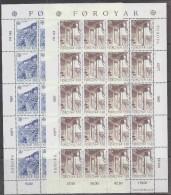 Europa Cept 1987 Faroe Islands 2v 2 Sheetlets ** Mnh (F1769) - Europa-CEPT