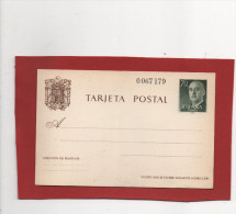 Tarjeta Postal Franco 1962 , 70cts , No Usada - 1931-....