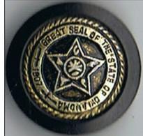 Bouton  Plastique  20  Mm   20  Mm  étoile - Buttons