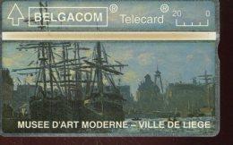 EG4146    BELGIQUE  TELECARTE MAGNETIQUE
