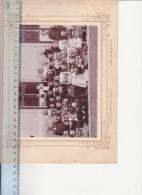4 old photos on hard cover, Austria, Czech republic