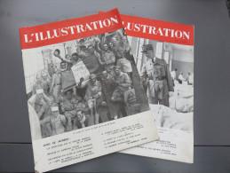 2 Magazines L'ILLUSTRATION N°5135 Du 9 Août 1941 Et N°5137 Du 22 Août 1941 - Revues & Journaux