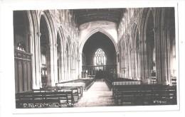 RP CHURCH INTERIOR St Peter & St Paul Church Lavenham Suffolk Postcard UNUSED