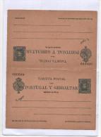 Tarjeta Postal 5c. Ida Y Vuelta, Tipo Cadete 5a Serie , Edifil No.44 , No Usada - 1850-1931