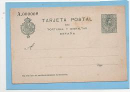 Tarjeta Postal 5c. , Tipo Medallón, 3a Serie , Edifil No.55, No Usada - 1850-1931