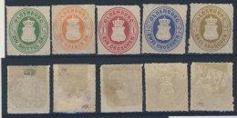 Oldenburg Michel No. 15 - 19 A * ungebraucht / (*) ohne Gummi