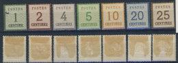 Norddeutscher Postbezirk Michel No. 1 - 7 II * ungebraucht