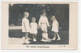 Luxembourg -- Nos Enfants Grand - Ducaux - Grand-Ducal Family