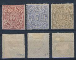 Norddeutscher Postbezirk Michel No. 9 - 11 * ungebraucht