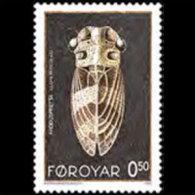 FAROE IS. 1995 - Scott# 276 Insect-cicada 50o MNH (XJ759) - Féroé (Iles)