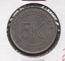 CONGO 5 MAKUTA 1967 - Congo (République 1960)
