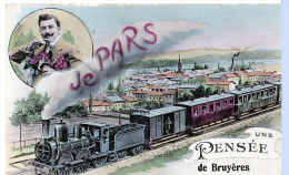 """Bruyères (Vosges) """"Je Pars, Une Pensée De..."""" - France"""