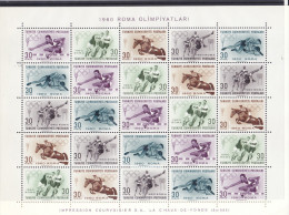 Turquia 1562/66  MNH - 1921-... Republic
