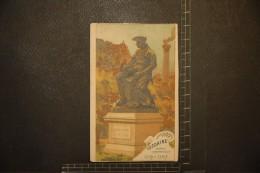 Chromo, Image, Publicité, Chocolat Guérin Boutron Les Statues De Paris SEDAINE Poete Dramatique 1719 1797 - Guérin-Boutron