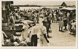 Paramaribo  Real Photo Markt Market  P. Used Suriname - Suriname