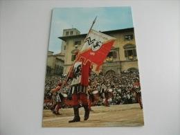 Arezzo Giostra Del Saracino Musici Stendardo - Costumes