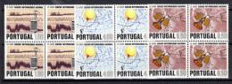 PORTUGAL 1971.AFINSA Nº 1116/1118.SERVIÇO METEOROLOGICO NACIONAL.BLOQUE DE 4 NUEVOS SIN CHARNELA  SES 833 - Nuevos