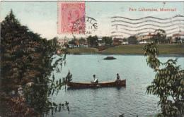 Montréal - Parc Lafontaine (animation, Barque, Bruges 1911) - Montreal