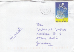1102- SOUTH AFRICAN LARGE TELESCOPE, STAMPS ON COVER, 2005, SOUTH AFRICA - Afrique Du Sud (1961-...)
