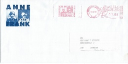 Briefomslag Anne Frank 1993 - Documents Of Postal Services