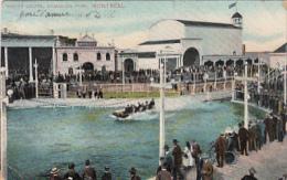 Montréal - Water Chute, Dominion Park (animation, Ottignies 1909) - Montreal
