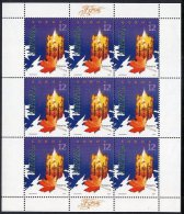 MACEDONIA 2005  Christmas  Sheetlet  MNH / **.  Michel  375 Kb - Macedonia