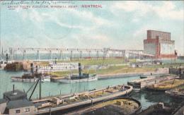 Montréal - Grand Trunk Elevator, Windmill Point (péniches) - Montreal