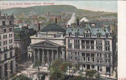 Montréal - View From Notre Dame Church (Ottignies, Bruxelles, 1911) - Montreal