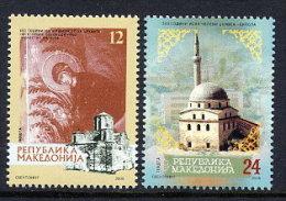MACEDONIA 2006 Religious Buildings  MNH / **..  Michel  379-80 - Macedonia