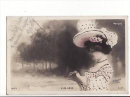 Carte 1904 FEMME / E DE VERE / MARIGNY (REUTLINGER) - Theater