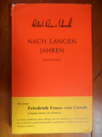 Nach Langen Jahren (Friedrich Franz Von Unrubtt) De 1951 - Livres, BD, Revues