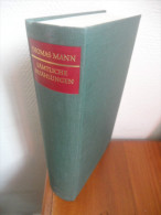 Sämtliche Erzählungen (Thomas Mann) De 1963 - Livres, BD, Revues