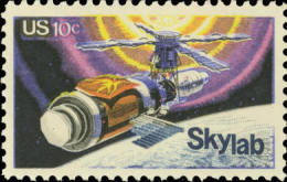 1974 USA Skylab Stamp Sc#1529 Space - Space