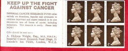 Great Britain, Booklet, Oxfam - Charity Stamps 18 At 4 D., 1968