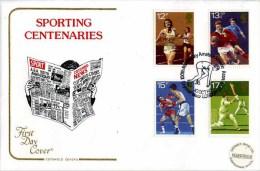 1980 SPORTS FDC - CRYSTAL PALACE P/M - FDC