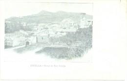 ESTELLA PORTAL DE SAN NICOLAS LIZARRA - CPA CIRCA 1895 PRECURSEUR PRECURSOR DOS NON DIVISE UNCIRCULATED RARISIMA - Navarra (Pamplona)