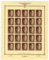 Generalgouvernement Michel No.  91 ** postfrisch Bogen