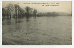 CPA Hauts De Seine - 92 - Inondations 1910  CHATOU - Otros Municipios