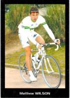 Thème -  Sport - Cyclisme - Matthew Wilson - Cyclisme