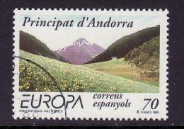 SPANISH  ANDORRA  1999 EUROPA CEPT USED - Europa-CEPT