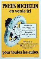 CPM MICHELIN Collection BIBENDUM BI023 Pneus En Vente Ici - Publicité