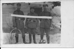 Fehrnsprecher Allemands Telegraphistes Radios Poseurs De Cables Téléphoniques 1 Carte Photo 1914-1918 14-18 Ww1 WwI Wk - War, Military