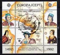 EUROPA CEPT -  1992  CIPRO TURCA BF A.s.   Usato - 1992