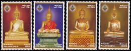 LAOS - 2003 - Mi 1899-1902 - BUDDHA STATUES OF LUANG PRABANG - MNH ** - Laos