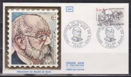 = Enveloppe 1er Jour Découverte Du Bacille De Koch (Robert)  Paris 13 Novembre 82 N°2246 - 1980-1989