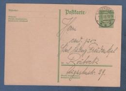 GANZSACHEN - ENTIER POSTAL 1930 ROSTOCK ZU ROSTOCK - Deutschland