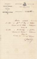 1931 Brief Lettre Factuur Invoice Charente-inférieure Mairie Saint-Pierre-Du-Palais - France